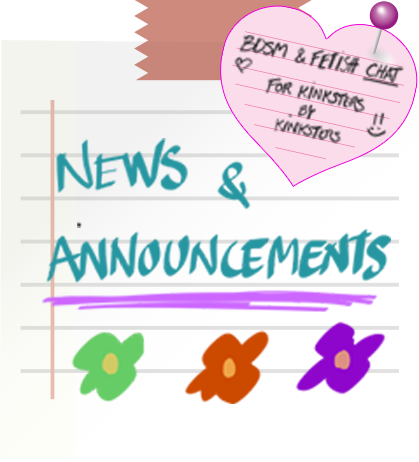 Read our Announcements